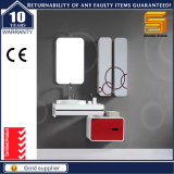 Cabina de madera montada en la pared modificada para requisitos particulares de la vanidad del cuarto de baño con el lavabo de colada