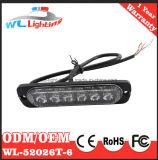 La superficie d'avvertimento sottile eccellente della griglia LED monta gli indicatori luminosi rossi/bianco