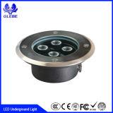3*3W는 Die-Casting 알루미늄을%s IP67 9W LED 지하 빛을 + 스테인리스 방수 처리한다