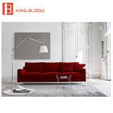 Mobília secional moderna do sofá do dorminhoco de 3 partes com disconto