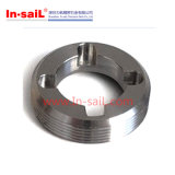 Peças de alumínio de aço fazendo à máquina do CNC da precisão