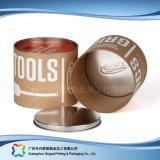 Embalaje de papel regalo tubo rígido/ Café/ vino caja de embalaje (XC-PTP-017)
