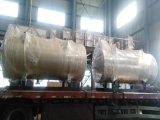 5.6MW水平の石油燃焼 大気圧の熱湯ボイラー