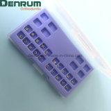 Maglia ortodontica della fabbrica di Denrum Edgewise/parentesi di Roth/Mbt con la FDA del Ce di iso
