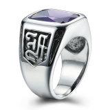 方法型夜Godnessの反錆レトロ 刻まれたチタニウムのステンレス鋼の人は宝石類を鳴らす