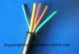 Isoleerde Flexibel pvc van de Draad 300/500V van het Huis BVVB Blvvb en stak Kabel in de schede