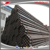 Tubo redondo negro del tubo de acero de ASTM A53 ERW