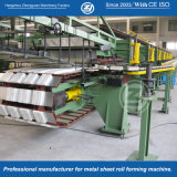 Zwischenlage-Panel, welches die Zeile bildet Maschine mit ISO bildet