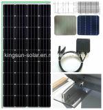 170W 고능률 공장은 단청 태양 전지판을 만들었다