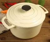세륨, FDA는 무쇠 캐서롤 불고기용 냄비를 30cm 의 중국에서 7.5L 공급자 승인했다