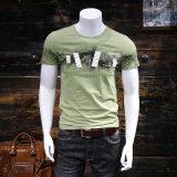 方法短い袖によってカスタマイズされるデジタル印刷の人の綿のTシャツ
