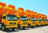 FAW 40 toneladas de 8X4 de carro de vaciado