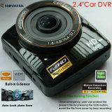 Novo Full HD1080p Car DVR Construído em G-Sensor, Detecção de Movimento Car Black Box, 5.0mega 170degree View Angle Car Camera, Gravador de Vídeo Digital DVR-2414