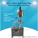 Semi-auto het Vullen van het Deeg Machine met Vultrechter die en zich voor Schoonheidsmiddel verwarmen mengen (gza-2)