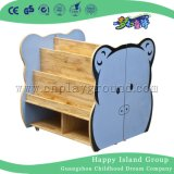 Jardín de infancia mobiliario escolar de madera de juguete para niños gabinetes de almacenaje (M11-08701)