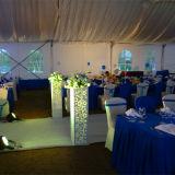Tente de luxe extérieure de mariage d'événement d'usager avec la cuisine/climatiseur/