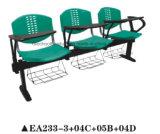 El plástico silla públicas para la formación de la junta con la escritura