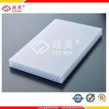 Los paneles de la PC de las cubiertas de material para techos