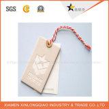 Milieuvriendelijke OEM Kraftpapier van de Prijs van de Fabriek hangt Markering