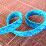 Trenzado plano de 10mm cinta de silicona para la ropa