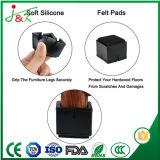 カスタマイズ可能な柔らかいRubbberの床の保護装置(正方形) (黒)、十分に