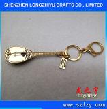 금속 Keychain 주문 Keychain 중국 Pipa 모양
