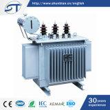 3 transformador inmerso en aceite de la corriente eléctrica de la fase 33kv