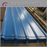 上塗を施してあるPPGIによって波形を付けられる鋼鉄屋根ふきシートを着色しなさい