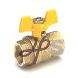 CSA aprobó la creación de la válvula de bola de gas de latón