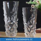 Vaas van het Glas van de V-vorm de Duidelijke