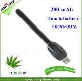 Batería recargable del petróleo los 510 más calientes de Cbd de la venta con la función del tacto