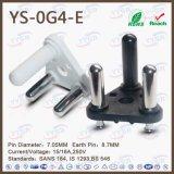 250V Manufactory 16A Южная Африка Plug