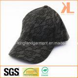 Бейсбольная кепка PVC & повелительницы Черн способа качества шнурка