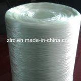 切り刻むことのために粗紡糸にするアルカリの自由なガラス繊維によってアセンブルされるフィラメント