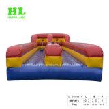 Venda a quente bungee jump inflável executando o jogo de desporto com duas faixas de rodagem