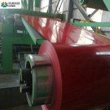 El primer PPGI bobinas de acero galvanizado con paquete de exportación