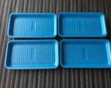 Еда супермаркета показывает устранимые тары для хранения мяса PP с Absorbent пусковыми площадками