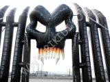 Halloween-Yard-Dekoration-aufblasbarer Friedhof-Torbogen K4067