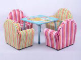 둥근 뒤 아이들 가구 또는 아기 의자 또는 직물 소파 (SXBB-13-01)