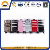 多彩で大きいアルミニウムトロリーケースの大広間の箱