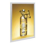 Коробка картинной рамки знака СИД тонкая рекламируя светлая