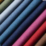 Tessuto del sofà della tappezzeria del filetto del Chenille tinto filato