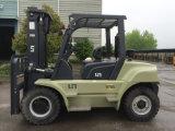 Nieuwe Op zwaar werk berekende Diesel van de Cabine Vorkheftruck 7ton