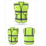 Alta sicurezza stradale di visibilità che funziona maglia riflettente uniforme