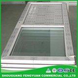 주문을 받아서 만들어진 이중 유리를 끼우는 UPVC/PVC Windows 의 싼 차일 창 유리