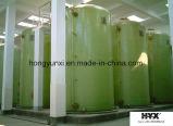 Depósito de plástico reforzado con fibra de ácido sulfúrico