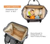 屋外旅行のための多機能の赤ん坊のミイラのおむつ袋のおむつ袋