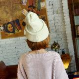 Женщин моды шерсть акриловый трикотажные зимний теплый Beanie Red Hat