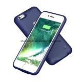 青いカラーiPhone 6/6sのための携帯用力バンクの充電器の例