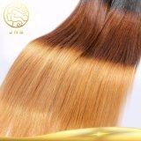 Bestes verkaufenfarben-Haar 100% des Jungfrau-brasilianisches gerade Ton-drei